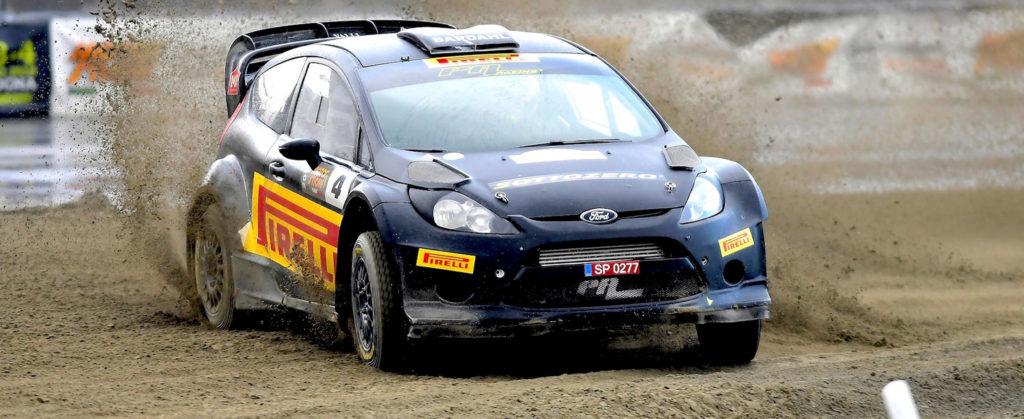 Kalle Rovanpera Ford Fiesta WRC vincitore trofeo pucci grossi motor show