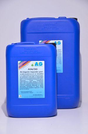 antigelo liquido per calcestruzzi e malte A&G