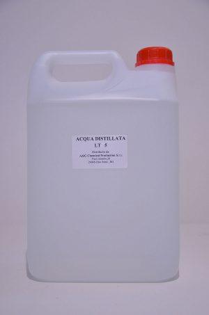 acqua distillata lt5 A&G