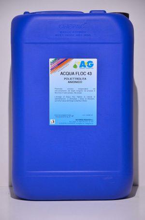 acqua floc poliettrolita anionico A&G