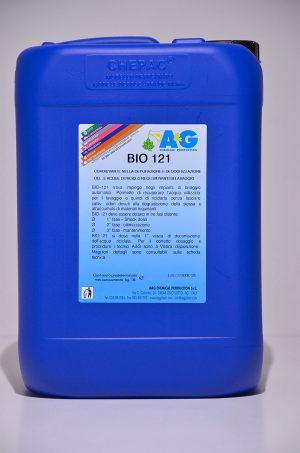 bio 121 coadiuvante nella depurazione e deodorizzazione delle acque di riciclo negli impianti di lavaggio A&G