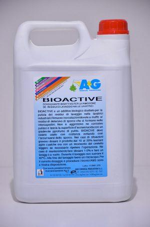 bioactive coadiuvante bioattivo per la rimozione dei residui di lavaggio nelle lavatrici A&G