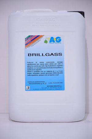 brillglass pulivetro di nuova concezione, asciuga rapidamente e non lascia aloni A&G