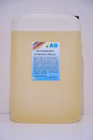 detergente a schiuma controllata per i lavaggio di stoffa e pelle A&G