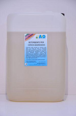 detergente per cerchi aggressivo A&G