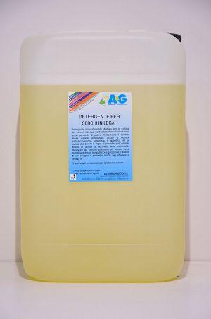 detergente per cerchi in lega autovetture A&G