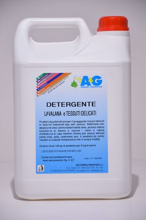 detergente lavalana e tessuti delicati A&G