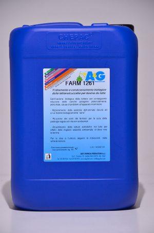 farm 1261 trattamento e condizionamento biologico delle lettiere/cuccette per bovine da latte A&G