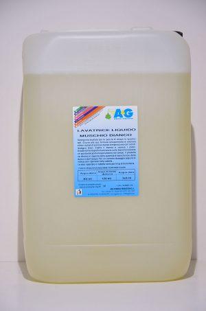 lavatrice liquido muschio bianco A&G