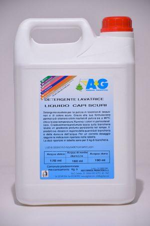 detergente lavatrice liquido capi scuri A&G