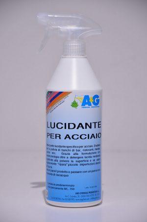 lucidante detergente per acciaio A&G