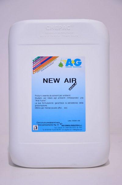 new air 10kg profumo esente da solventi per ambienti A&G