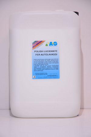 polish lucidante per autolavaggi a spazzoloni A&G
