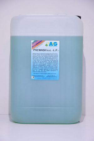 prewash sc lp detergente per impianti di lavaggio A&G