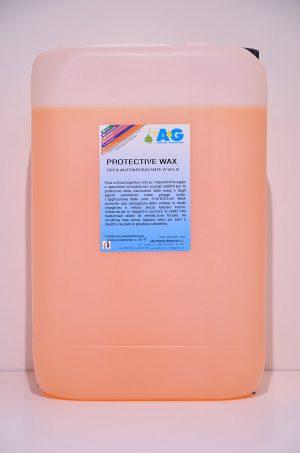 cera asciugante a velo per impianti di lavaggio protective wax A&G