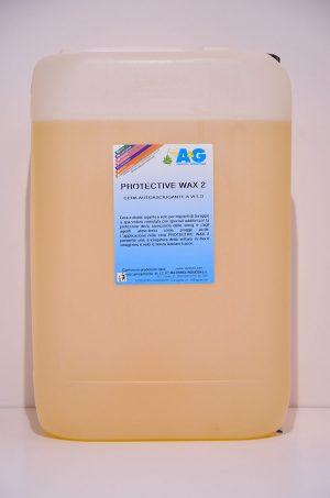 cera asciugante a velo per impianti di lavaggio protective wax 2 A&G