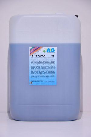 rw 1 detergente ad alta concentrazione per prelavaggio di autovetture A&G