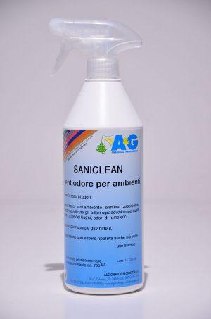 saniclean antiodore per ambienti A&G