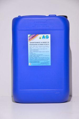 sanificante a base di ossigeno stabilizzato A&G