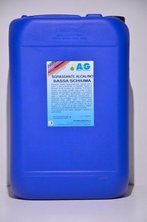 sgrassatore alcalino bassa schiuma A&G