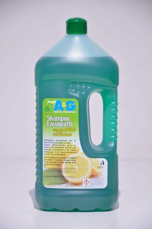 shampoo lavapiatti concentrato al limone A&G