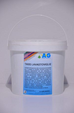 tabs lavastoviglie pastiglie detergenti ad alta concentrazione A&G