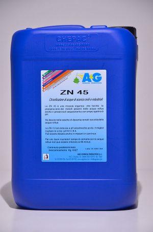 zn 45 chiarificatore di acque di scarico civili e industriali A&G