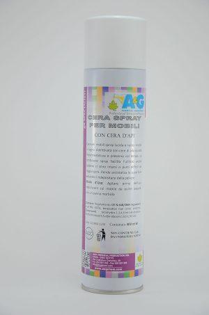 cera spray per mobili cura del legno A&G