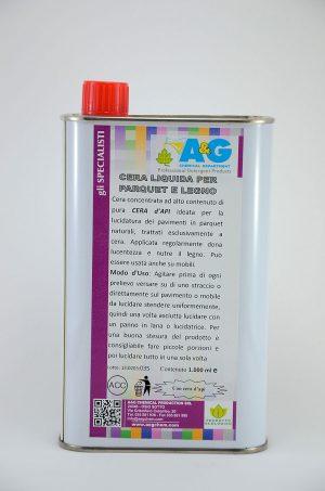 cera liquida per parquet e legno cura e restauro del legno A&G