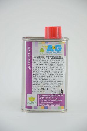 crema per mobili cura del legno A&G