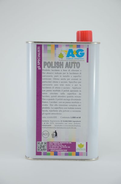 polish auto fai da te A&G