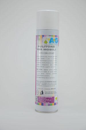pulitore per mobili spray cura del legno A&G