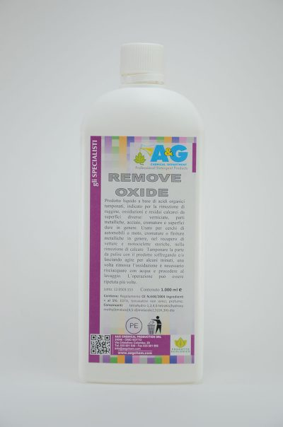 remove oxide fai da te A&G