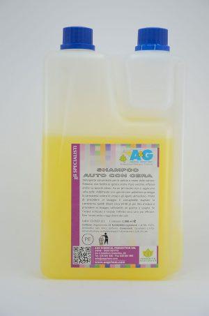 shampoo auto con cera fai da te A&G