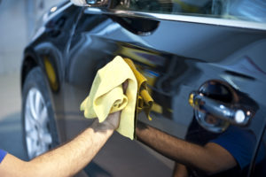 Products for cleaning the exterior of cars, campers, and motorcycles