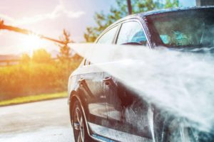 Professional products for self-service car washes