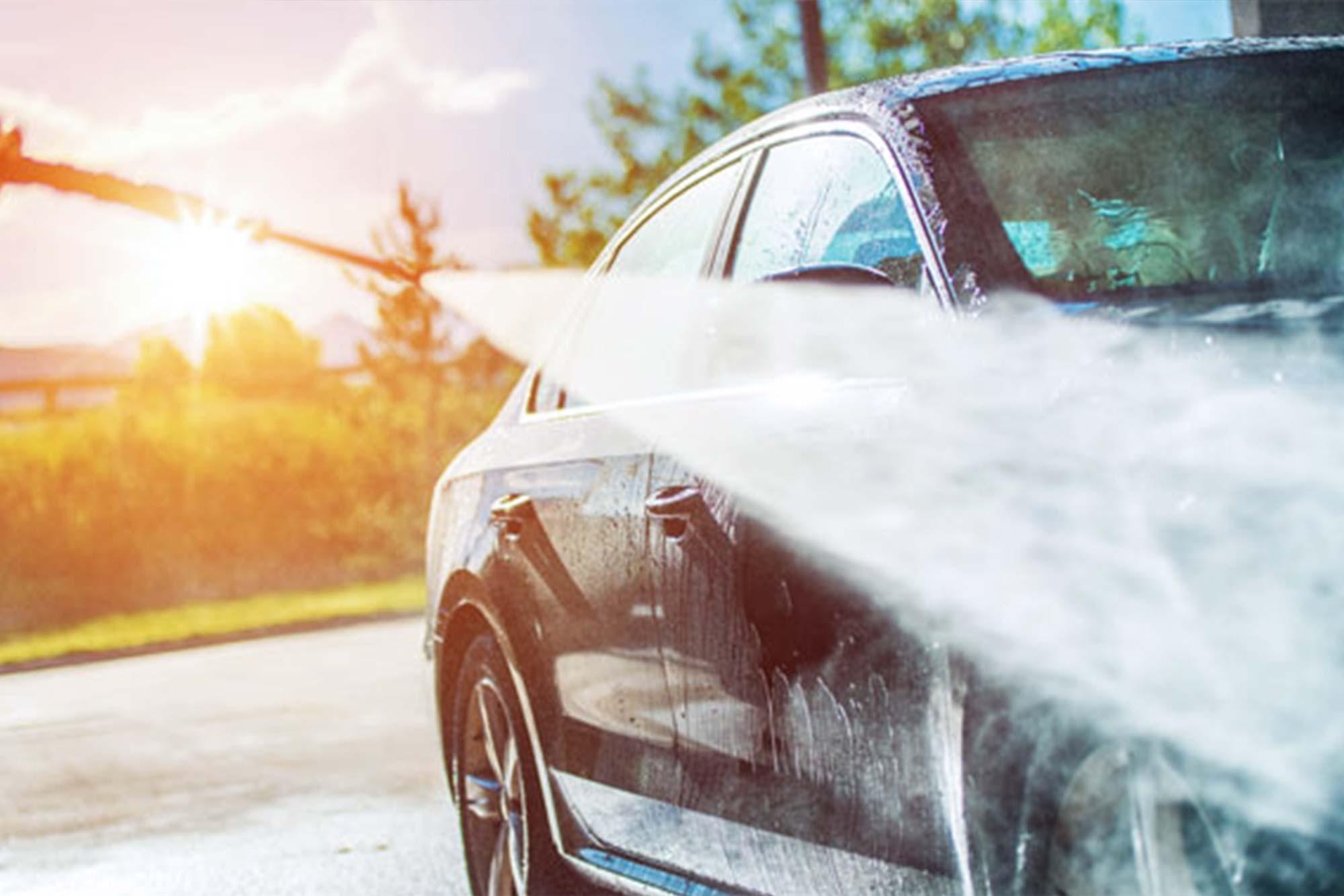 Prodotti per lavaggio auto professionali