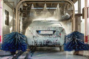polish auto per autolavaggio