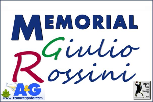 2° memorial giulio rossini