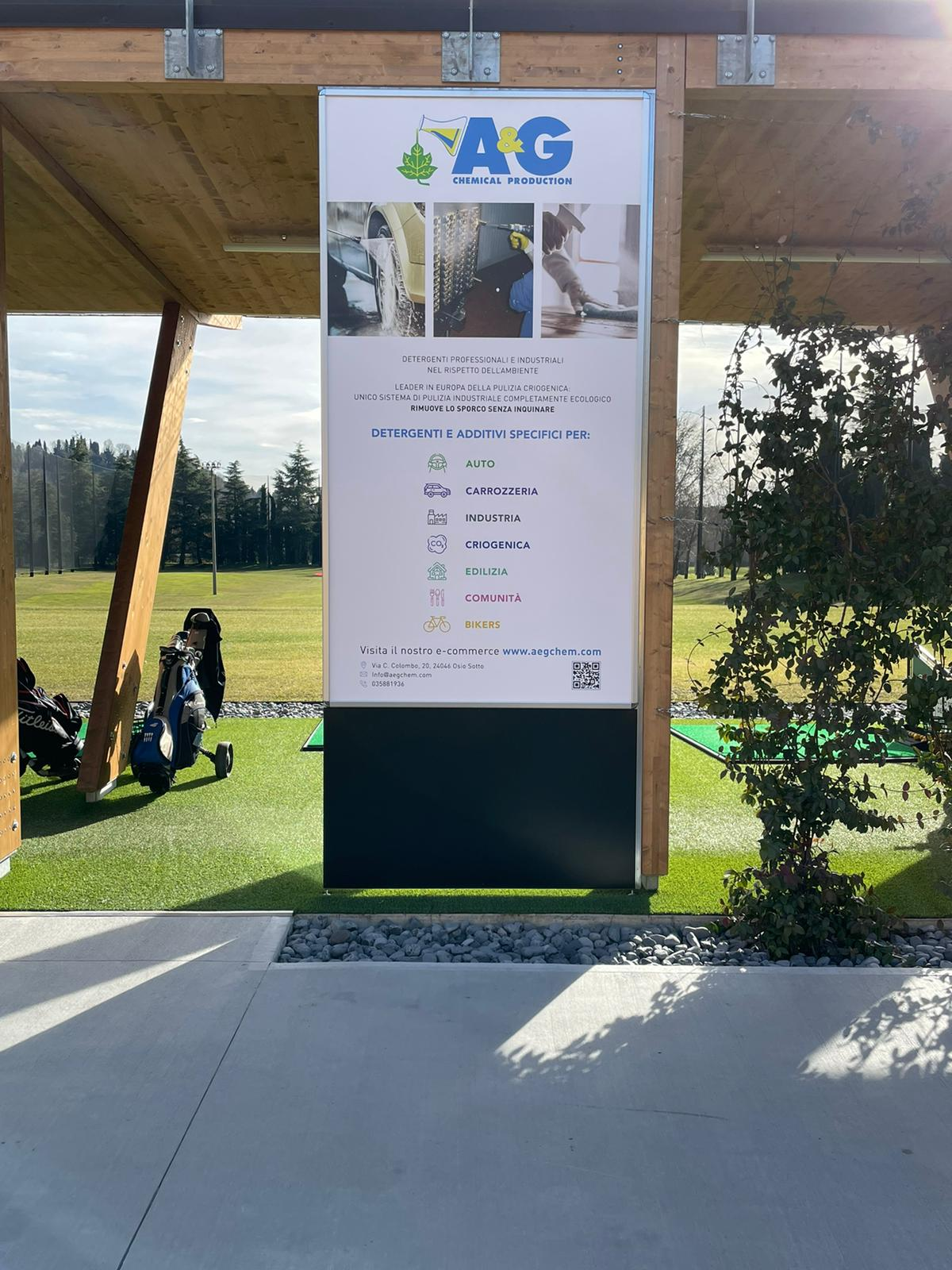 A&G for ai colli di bergamo golf