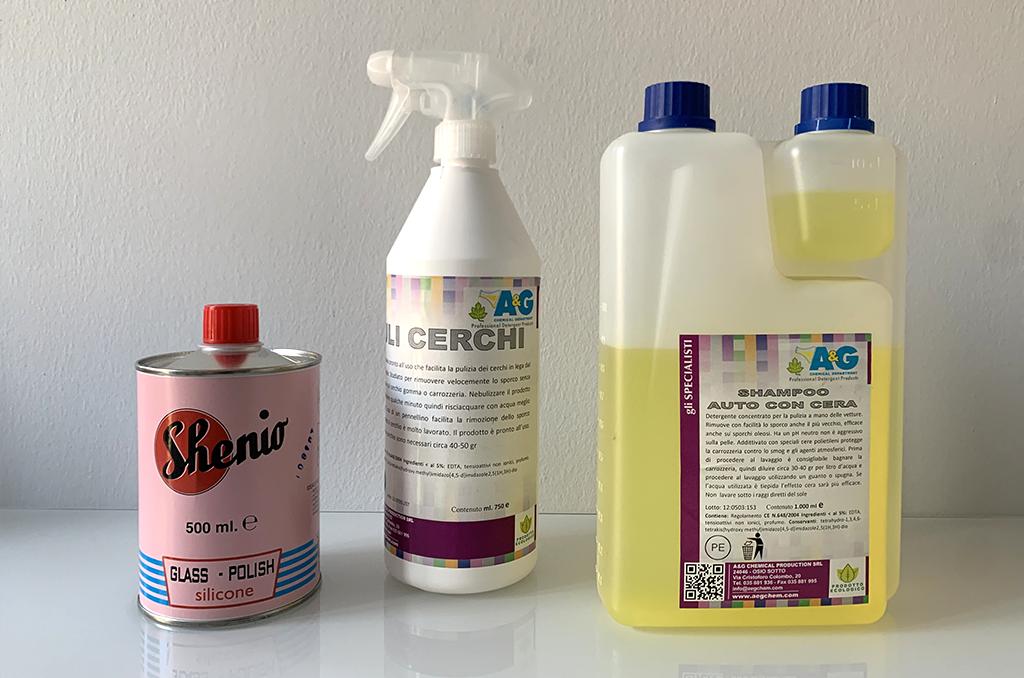 Scopri il kit di pulizia per la tua auto