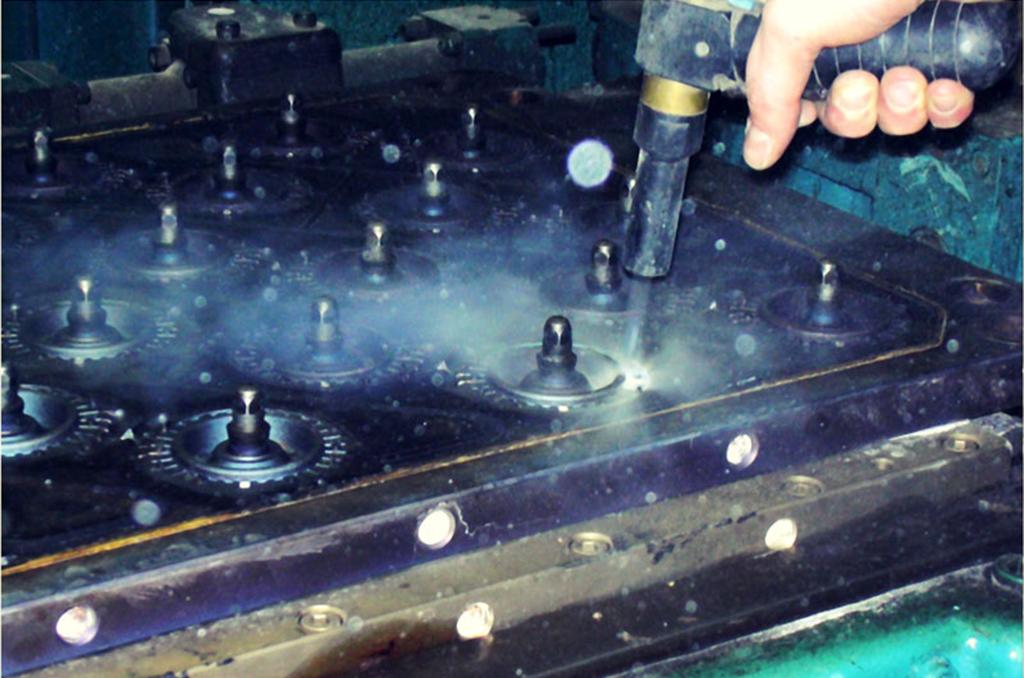 pulizia criogenica per le aziende