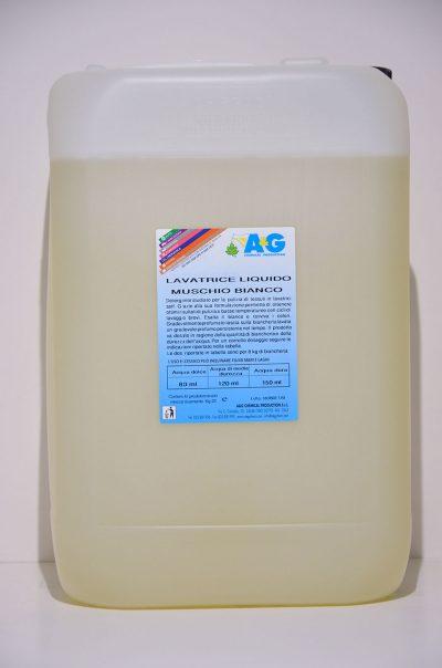 Detergente Lavatrice Liquido Muschio Bianco